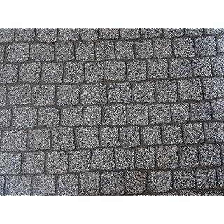 PVC in Pflasterstein-Optik, grau - von Alpha-Tex 9.95€/m² (kleines Musterstück)