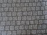 PVC in Pflasterstein-Optik, grau - von Alpha-Tex 9.95€/m² (Länge: 500 cm, Breite: 200cm)