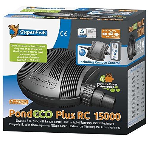 Superfish Pond Eco Plus E Télécommande 15000