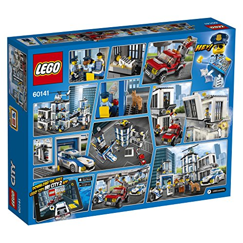 LEGO 60141 Police Station Building Toy