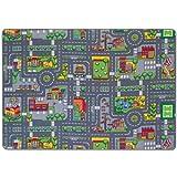 EDUPLAY 110-177 Spielteppich Straßenverkehr, 140 x 200cm, bunt (1 Stück)
