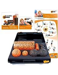 Blackroll Orange (Das Original) DIE Selbstmassagerolle - SMR-Set PRO inkl. Koffer, Übungs-DVD, -Poster und -Booklet