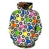 Festival Sweatshirt Männer/Frauen 3D-Hoodies Men's Hoody Drucken Hochwertige O-Ausschnitt mit Kapuze Langarm Oberbekleidung heißen Umsatz 2018 QYDM 200, M