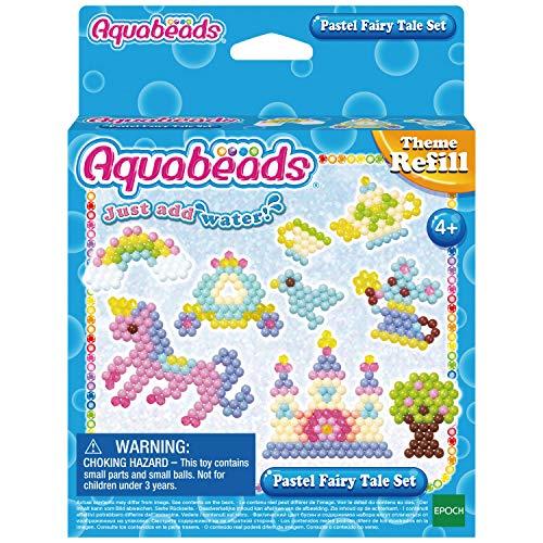 Aquabeads 31632 31632-Pastell Märchenwelt Set, Bunt