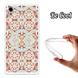 BeCool® - Cover Gel Flexible Sony Xperia X TPU Cover Brunt Sienna Pattern Cover Case Silicone TPU Soft
