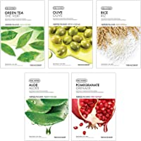 The Face Shop Unisex Real Nature Bestseller Combo, 100 g (Pack of 5)