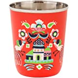 Chumbak Oriental Palace Steel Tumbler - Small - 100% Stainless Steel, Table and Dining Essentials, Drink Cup, Modern and Tren