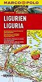 MARCO POLO Karten 1:200.000: MARCO POLO Karte Ligurien 1:200.000 -