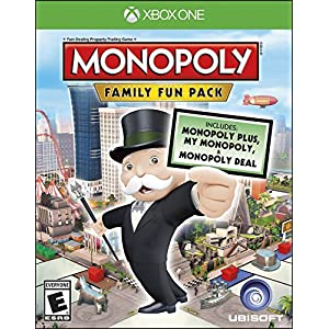 Monopoly Family Fun Pack – Xbox One Standard Edition by Ubisoft