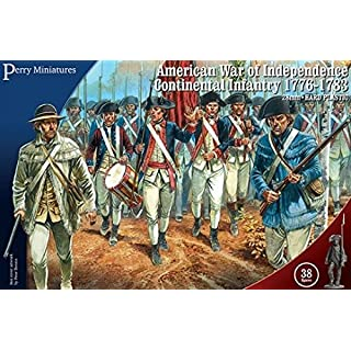 Perry Miniatures 28mm American War of Independence Continental Infantry 1776-1783
