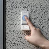 Türklingel Funk-Türklingel Türglocke Haustürklingel mit Stecker, LED-Flash und 48 Klingeltönen in weiß oder schwarz -