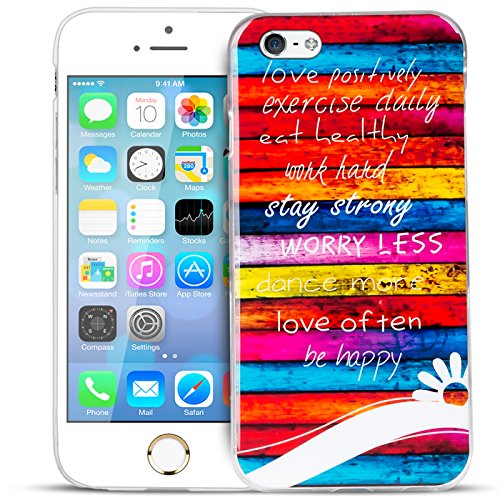 iPhone 6s Plus, 6 Plus Bilder Case, Conie Mobile Motiv Hülle Backcover Rückschale, Silikon TPU Schutzhülle Motiv 3