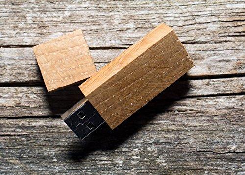 Preisvergleich Produktbild 16gb aus exotischem holz usb stick AMERICAN OAK 8GB/16GB/32GB/64GB