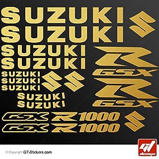 GT-Design Aufkleber Suzuki GSX 1000, Grau, GSXR, GSX R, selbstklebend