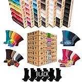 [7 + 5 GRATUIT].Paires Deluxe|Ramette [Original AirSox®] Parce que *TU* le vaux bien [UNISEX] Business|Casual|Sport|Lifestyle Femmes+Hommes Chaussettes | MADE IN EUROPE