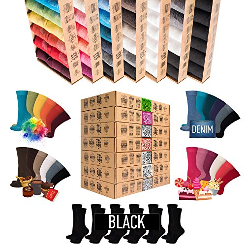 *NEU*[7+5 Paar.GRATIS] AirSox® Deluxe BOX Made.in.EU Herrensocken Damensocken 100% Organische Baumwolle   Damit Deine Füße ATMEN   Sneakersocken Sportsocken Business Schwarz Blau Bunt Weiß