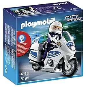 Playmobil 5185 - Motocicletta della Polizia