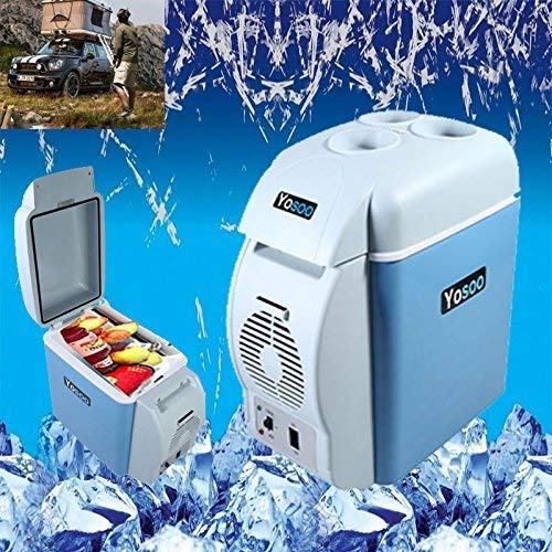 12V 7,5L Auto Mini Kühlschrank Kühlbox Kühler Wärmer Warmhaltebox Camping -