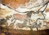 Posterlounge Holzbild 40 x 30 cm: Höhle von Lascaux von ARTOTHEK