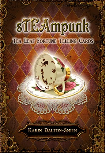 Steampunk: Tea Leaf Fortune Telling Cards - 45 bronze-edged cards and 68 page guidebook
