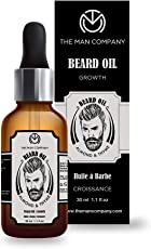 The Man Company Oil for Beard Moustache and Mooch - 30 ml (Almond and Thyme)