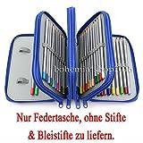 EMOTREE 4 Fach Federtasche 72 Löcher Federmap...Vergleich