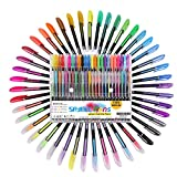 Best Gel Pens For Colorings - Sayeec 48 Packs Color Gel Pens Set Review