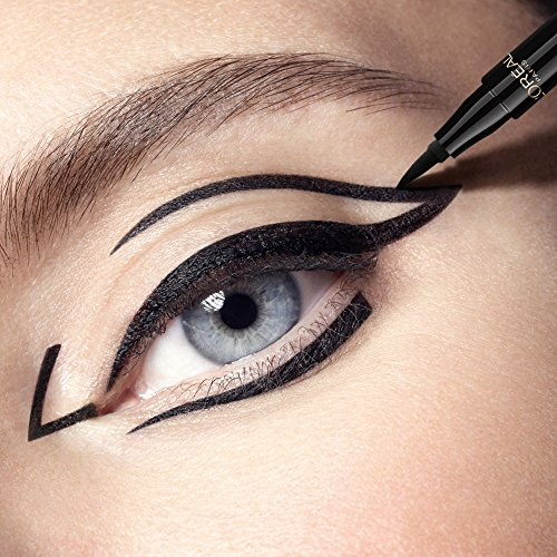 L'Oréal Paris Superliner Tattoo Signature Eyeliner Waterproof Ultra-Precisione e Lunga Tenuta, Extra Nero