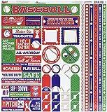 Unbekannt Baseball Karton Aufkleber 12Zoll x 12Zoll