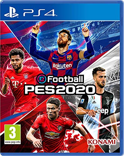 eFootball PES 2020 - Playstation 4 - Lingua Italiana