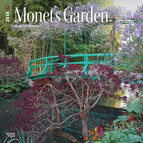 Monets Garden 2018 Wall Calendar
