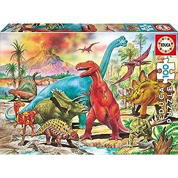 Educa Borrás - 13179 - Puzzle - Dinosaures - 100 Pièces