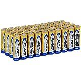 Maxell LR06 - Lot de 40 piles alcalines AA, couleur or
