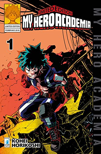 My hero academia. limited edition: 1