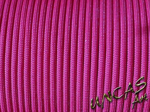 Original bracelet en paracorde 550 tYPE 3–30 m corde couleur : fuchsia