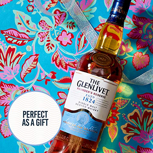 The Glenlivet Founder's Reserve Single Malt Scotch Whisky, 70 cl
