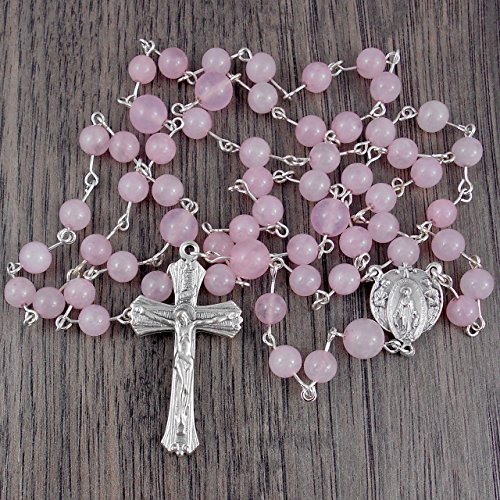 rose-quartz-rosary-with-italian-made-crucifix-centrepiece-includes-gift-box