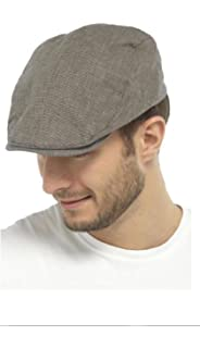 Made in The EU Ivy hat Peak Stetson Taleco Wool Flat Cap with Linen Men Lining Spring-Summer Lining