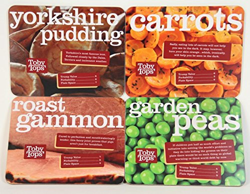 set-of-4-toby-carvery-printed-placemat-table-mats-yorkshire-puddings-carrots-roast-gammon-peas