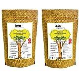 #7: O4U Colourless Henna leaf powder for hair colour/organic colourless henna powder for Shiny, Healthy, Thick hair - set of 2 (100 gm + 100 gm)