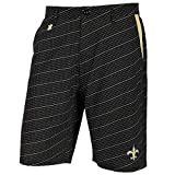 "New Orleans Saints NFL ""Dots"" Men's Casual Polyester Walking Shorts"