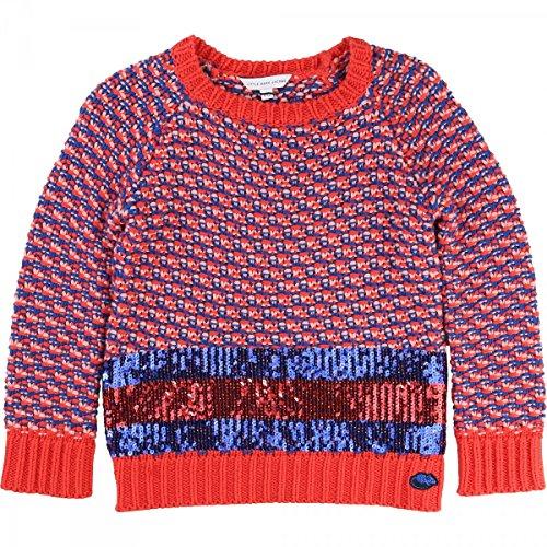 Little Marc Jacobs - Pull Rouge et bleu - 12 Jahre, Rot