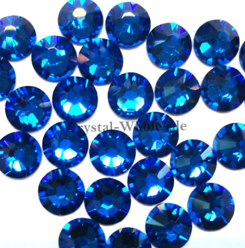 144 Swarovski 2028 Crystal (144 Swarovski 2028 / 2038 20ss HOTFIX crystal flatbacks ss20 CAPRI BLUE A HF by Crystal-Wholesale)