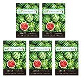 #9: ONCROP WAT01-5 Watermelon Seeds (White, 40 Grams, Pack of 5)