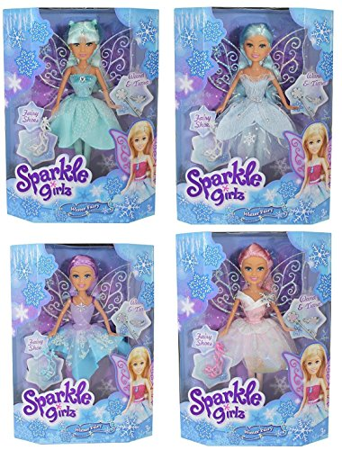 Sparkle Girlz Magische Winter Fee Puppe - 4 Designs zur Verfügung (Disney Barbie-puppen Junge)