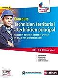 Concours Technicien territorial et Technicien principal - Intégrer la fonction publique - 2017