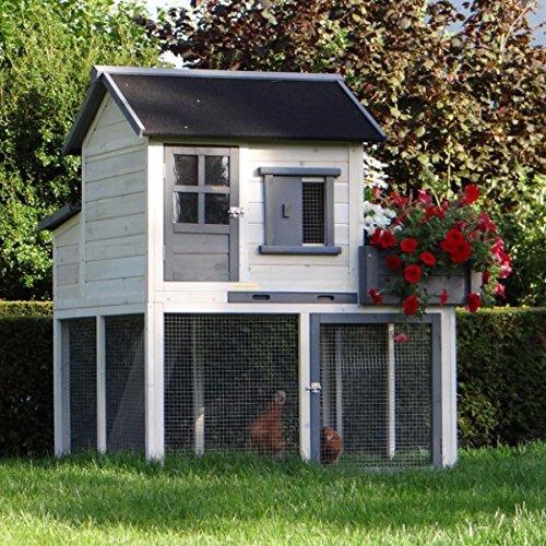 Animalhouseshop.de Hühnerstall Sunshine 116x112x134cm