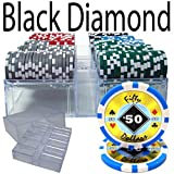 200 Ct Pre Packaged Black Diamond 14 G Acrylic Tray