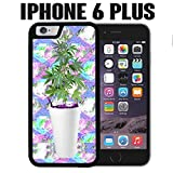 iPhone Case Sizzurp and Weed Seapunk for iPhone 6 PLUS Plastic Black (Ships from CA)