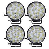 viugreum® LED Phare de Arbeit Lampe Auto Bevor 48W Wasserdicht IP67Hohe Helligkeit Beleuchtung Verhaltenskodex Sich